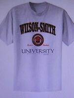 SOBRIETY  TEE SHIRT - WILSON - SMITH UNIVERSITY - RECOVERY