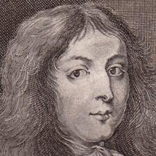 Portrait XVIIIe Charles XI Karl XI Charles XI of Sweden Duc de Brême et Verden