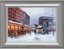 Henderson Cisz Paris in the Snow Framed Limited Edition Print
