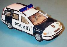 "wonderful  modelcar VOLVO V70 ""POLIISI (SF)"" 2004 - White / darkblue - 1/43"