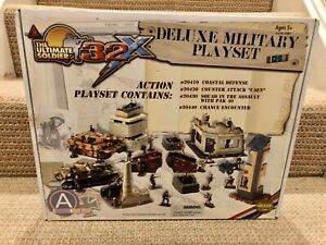 Ultimate Soldier 1:32 Deluxe Military Playset With Tiger, StuG & Pak, No. 20500