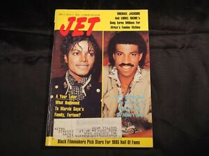 Jet Magazine April 8, 1985 Michael Jackson Lionel Richie Digest 8x5