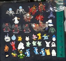 RARE Lot of 44 Vintage Bandai Digimon Mini Figures 2001 Veemon Datamon etc.
