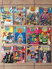 lotto 12 fumetti justice league lega della giustizia tra 1 e 15 il play press dc