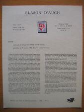 Frankreich Mi 1534 / France Yvert & Tellier N° 1468 : blason d'auch - 1966 -