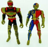 1995 Kenner Saban VR Troopers action figures Ryan Steele & J B Reece