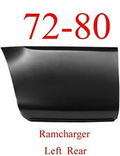 72 80 Dodge Ramcharger Left Rear Lower Bed Panel, Patch Panel 1580-137