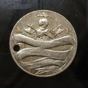 Antique Knights of Pythias (K.O.P)  Un-circulated or Inscribed Metal Key Tag