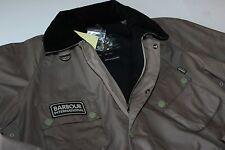 Barbour Jacket Coat Wax Pelton Dark Concrete LS MWX0626GY51 XX-Large XXL Euro