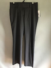 BNWT Ladies Sz 10 Stylecorp Brand Charcoal Grey Flared Bootleg Dress Pants