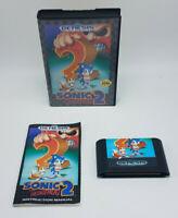 1992 Sega Genesis Sonic The Hedgehog 2 Game