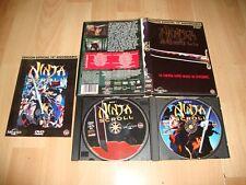 NINJA SCROLL EDICION ESPECIAL 10º ANIVERSARIO ANIME EN DVD AÑO 1994 BUEN ESTADO