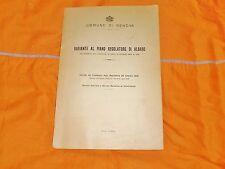 variante al piano regolatore di albaro comune 10 giugno 1943 in 8°