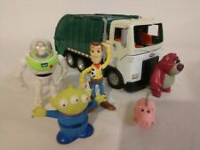 "Disney Toy Story 3 - TALKING Lotso Bear 12"" GARBAGE TRUCK - Matchbox Mattel 2009"