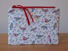 Cath Kidston 'Little Birds' Fabric Storage Pouch Coin Purse Make Up Bag Handmade