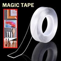 1m Nano Tape Doppelseitiges Klebeband Abnehmbares Gel Spurloses Klebeband
