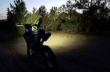 Thumper Jockey Enduro 3000 Head Light kit, 3000 Lumens LED Off road Motorcycle