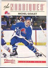 Michel Goulet 86 2012-13 Classics Signatures
