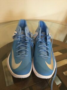 New NIKE Zoom KD TREY 5 IV 17.5 Durant Blue Basketball Shoes 856484-443