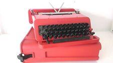 ETTORE SOTTSASS typewriter valentine per olivetti as utopie du plastique