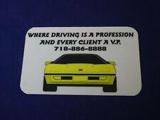Prepaid Phone Card with a Yellow Car
