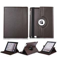 360 Rotating Luxury PU Leather Smart Case Stand Cover For Apple iPad Mini 1 2 3