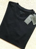 "ALL SAINTS MEN'S BLACK ""MARS"" OVERSIZED S/S CREW T-SHIRT TOP  S M L XXL NEW TAGS"
