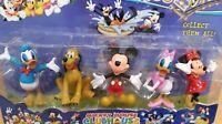 Mickey Mouse Minnie Donald Duck Daisy Duck dog Pluto Playset toys 12cm figures