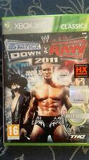SMACK DOWN VS RAW 2011 EDIZIONE  ITALIANA Xbox 360 NUOVO  SIGILLATO