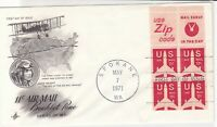 united states 1971 booklet pane stamps cover ref 20028