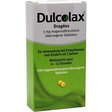 dulcolax DRAGEES magensaftresistente Comprimés 100 pièces pzn 7261407