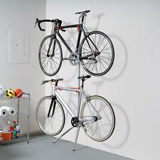 Bike Garage Storage Rack Stand 2 Bicycle Wall Gravity Indoor Home Holder Hanger