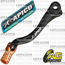 Apico Black Orange Gear Pedal Lever For Husqvarna TE 125 2014 Motocross Enduro