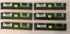 NANYA 24GB (6x 4GB) 2Rx4 PC3-8500R-7  Server Memory NT4GC72B4NA1NL-BE