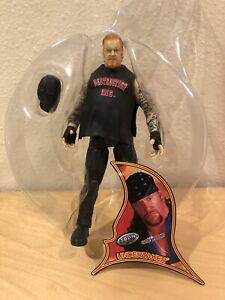 UNDERTAKER WWF 2001 Jakks Sunday Night Heat Rebellion 2 Biker American Badass