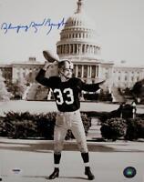 Sammy Baugh Autographed Redskins 11x14 Capital Photo- PSA/DNA Auth