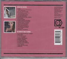 Helene Segara - Coeur De Verre + Au Nom D'Une Femme - 2 CD - l(NEU/OVP)