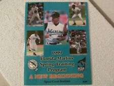 FLORIDA MARLINS 1999 SPRING TRAINING PROGRAM SPACE COAST STADIUM
