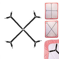 Mattress Bed Sheet Crisscross Straps Clips Grippers Suspender Fasteners Holders