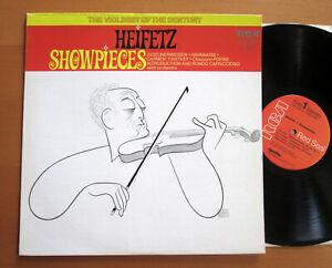 LSC-3232 Heifetz Showpieces Carmen Fantasy Chausson Poeme etc NEAR MINT RCA USA