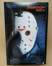 "Friday The 13th Part 3  Jason Voorhees 12"" 1/6 Scale Action Figure Sideshow NM"