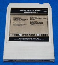 On Stage And In The Movies, Dionne Warwick 8-Track Tape, Tested