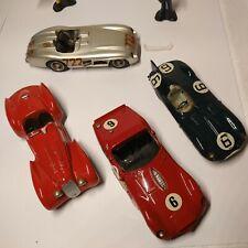 WESTERN Models cars Ferrari Alfa Romeo Jaguar Very nice lot of 4 🔥👀