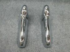 Pair of 1955 1956 Ford Bumper Guards (FRESH CHROME)