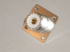 MGS 7511 SILVER SO-239 UHF-FEMALE ANTENNA COAXIAL PANEL JACK FOR HEATHKIT #436-5
