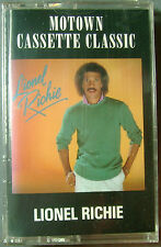 Lionel Richie Self Titled (1st Album) (Cassette, 1982, Motown) NEW