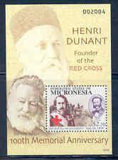 PALAU 100th MEMORIAL ANNIVERSRAY OF HENRI DUNANT RED CROSS S/S  MINT  NH