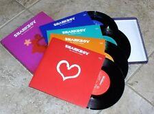 "Sharkboy ""The Valentine Singles""4x 7"" Box Set James Tindersticks Slowdive Suede"
