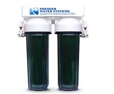 Dual DI Aquarium Reef Reverse Osmosis Water Filter Kit 0 PPM   Add On RO/DI