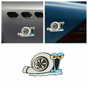 Waterproof Bumper Window Trunk Decal Turbo Snail Car Sticker Auto Decor